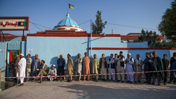 Afghan presidential election hailed as major security success