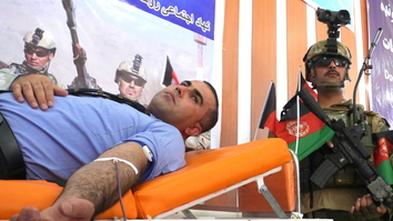 Herat residents honor sacrifices of Afghan security forces during blood drive