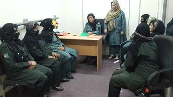 Afghan policewomen serve country with pride