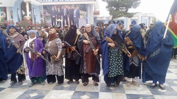 Jawzjan women take up arms against Taliban, ISIL