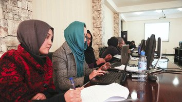 Civil servant hiring programme begins to have impact on Afghan government