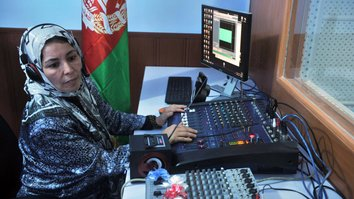 New centre aims to protect female journalists in Afghanistan