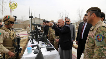 Afghan authorities laud own Special Forces