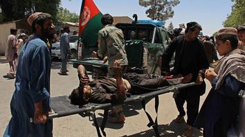Taliban bomb in Lashkargah kills civilians withdrawing money