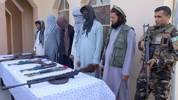 7 ISIS fighters join peace process in Nangarhar