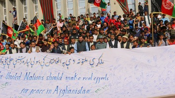 Laghman athletes, youth call for peace