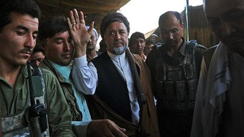 Mohaqiq draws fire for praising Iran's recruitment of Afghans in Syrian war