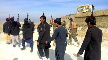 Together with Afghan forces, Nangarhar residents take up arms against ISIS