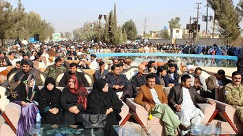 Thousands of Helmand residents rally for peace