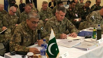 Top military chiefs meet in Kabul to discuss regional security