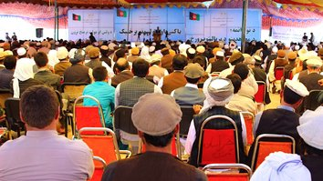 Laghman elders urge voting in parliamentary elections