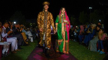 In photos: Afghan models hit the catwalk in Mazar-e-Sharif