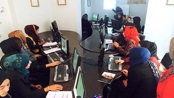 Centre in Herat offers women opportunities to learn technology skills