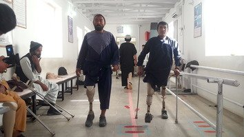 7,000 Helmand residents received prosthetic limbs last year