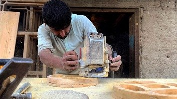 Reclaimed from militants, Kunar's forests spur woodworking opportunities