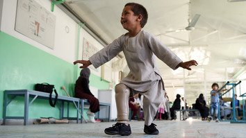 Viral video of dancing amputee shines spotlight on Taliban's stance on Red Cross