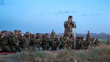 In photos: Afghan army observes Ramadan while ensuring security