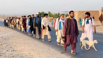 Taliban detains People's Peace Movement marchers in Helmand