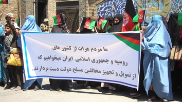 Herat residents urge Tehran, Moscow to end Taliban support and spur peace process