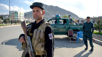 Security forces 'fully prepared' to protect elections against Taliban threats