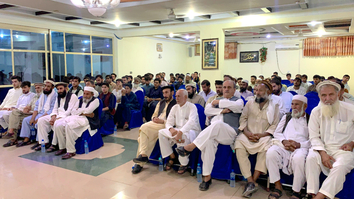 Rallies in Nangarhar, Herat urge Taliban to declare immediate cease-fire