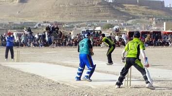 Youth call out Taliban at 'peace and ceasefire' cricket tournament