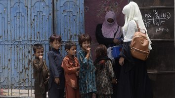 Afghan refugees in Pakistan mock 'ridiculous' claim of Taliban support