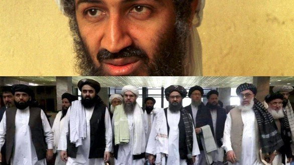 Why does the Taliban deny al-Qaeda's responsibility in the September 11 attacks?