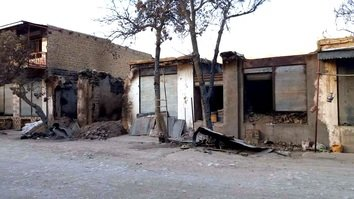 Taliban set ablaze shops in Jawzjan with shopkeepers sleeping inside