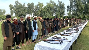 Dozens more ISIS fighters lay down their arms in Nangarhar