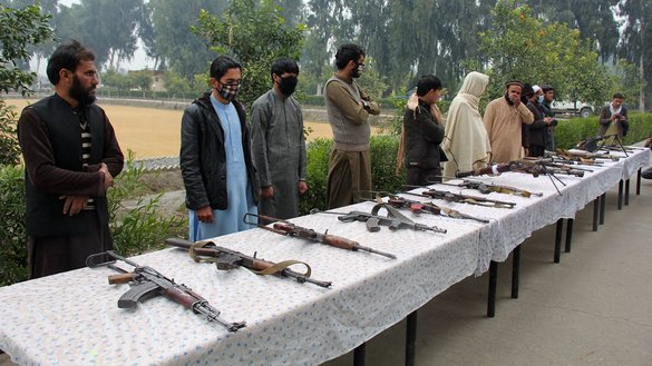 Dozens of Taliban fighters surrender to authorities in Nangarhar, Badakhshan