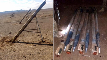 Iranian-made rockets found ready to fire on Kandahar airport