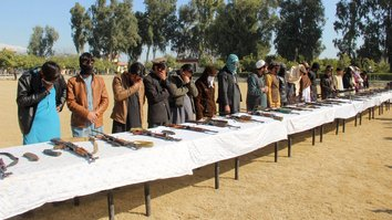 'Give up fighting and live': Taliban fighters surrender in Faryab, Nangarhar