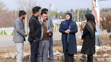Herat's 1st female district mayor overcomes challenges to serve the people