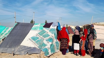 Displaced families in Balkh face shortage of food, shelter