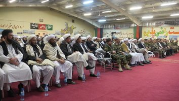 Herat religious scholars stand behind Afghan forces amid partial truce