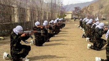 Photos of Taliban military training draw scepticism over intentions of peace