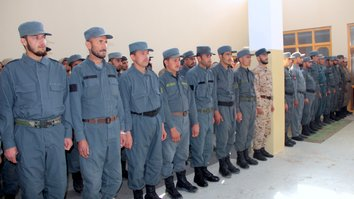 Kunduz literacy training programme helps local police build citizens' trust