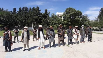 Taliban militants surrender in Baghlan, cite group 'working for foreigners'