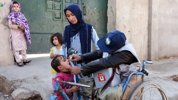 New polio cases spark concern in Afghanistan as coronavirus halts immunisation drive