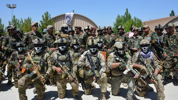Specialised military training has led to creation of independent Afghan force