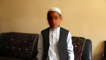 Would-be child suicide bomber trained by Taliban surrenders in Kunduz