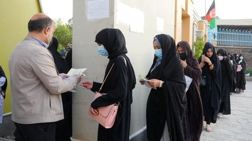 Herat witnesses record female participation in Kankor exam
