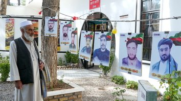 Photo exhibition in Herat honors sacrifices of fallen soldiers