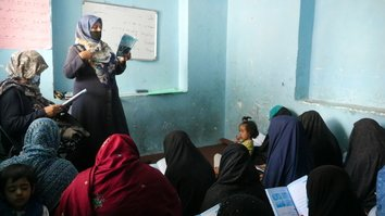 Literacy classes in Herat help open doors of opportunity for thousands of women
