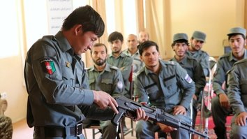 Young, educated recruits bolster Afghan security forces in southwestern provinces