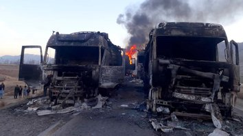 Taliban torch tankers in Baghlan after drivers refuse extortion