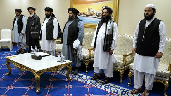 Afghan officials blame Taliban for 'snail's pace' of peace talks